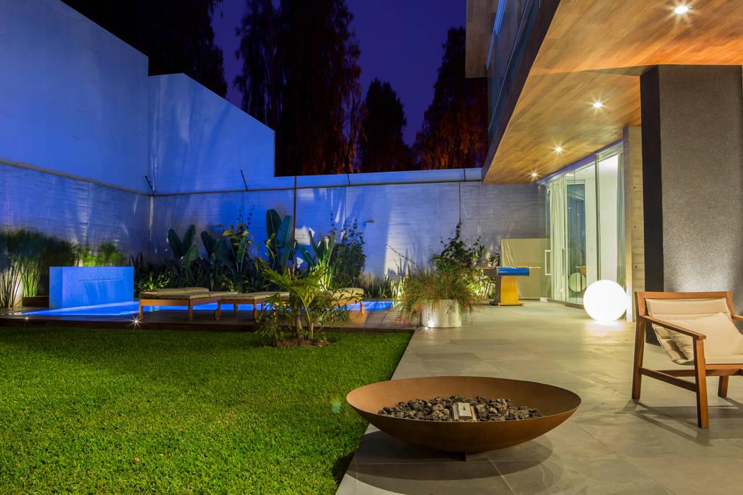 Casa La Estancia Jardines de estilo moderno de DLPS Arquitectos Moderno