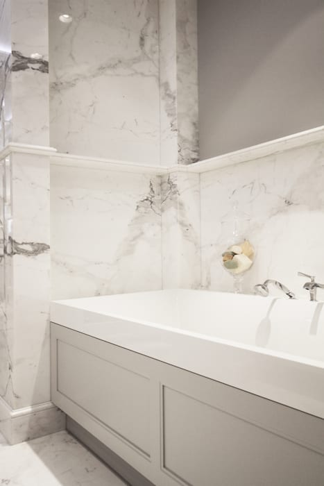 ห้องน้ำ โดย Katarzyna Kraszewska Architektura Wnętrz, คลาสสิค