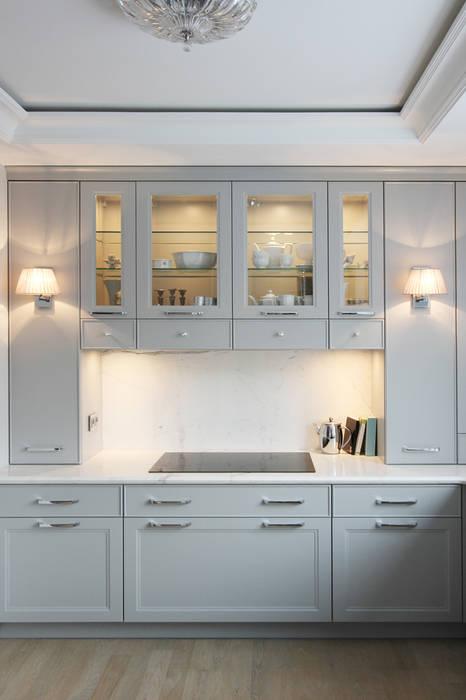 ห้องครัว โดย Katarzyna Kraszewska Architektura Wnętrz, คลาสสิค