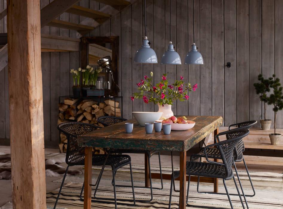 Projet Dordogne Salle à manger rurale par Agence Inside DECO Rural