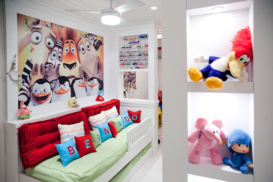 Nursery/kid's room by Ana Levy | Arquitetura + Interiores , Modern