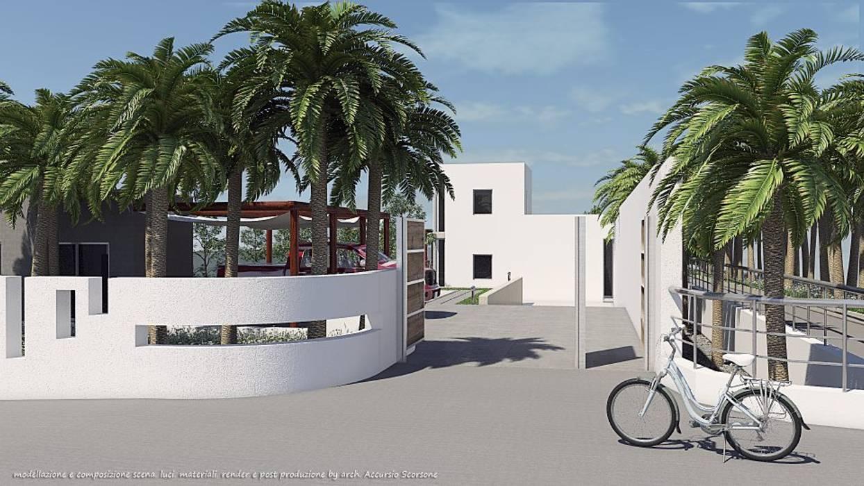 Project villa monofamiliare Case in stile minimalista di Studio di Architettura Minimalista