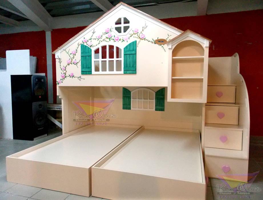 Hermosa Casita Litera Para Niñas Habitaciones Infantiles De Estilo