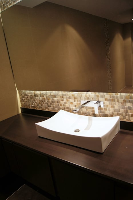 Baño Huéspedes : Baños de estilo  por MARECO DESIGN S.A.S