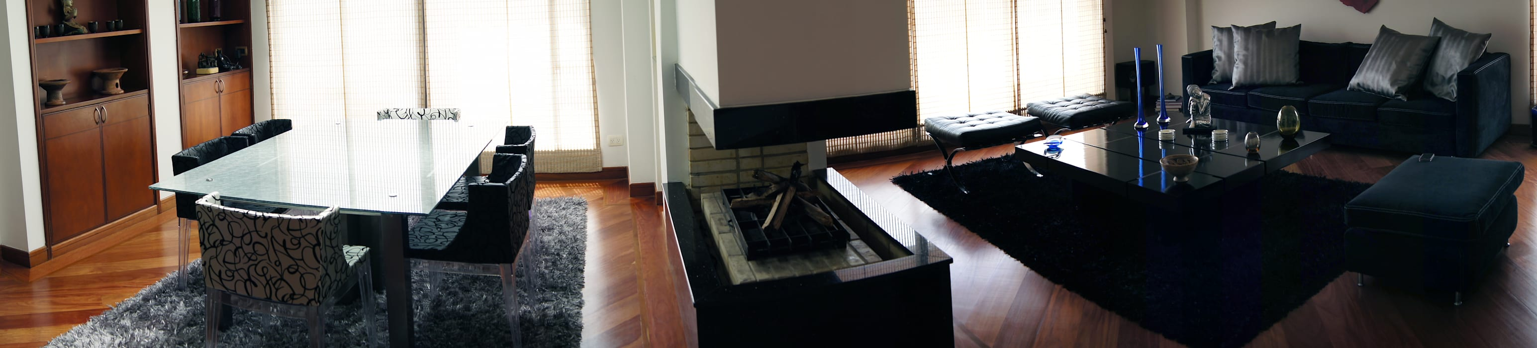 Gentleman  Apartament  ( apartamento para hombre soltero) : Comedores de estilo  por MARECO DESIGN S.A.S, Moderno