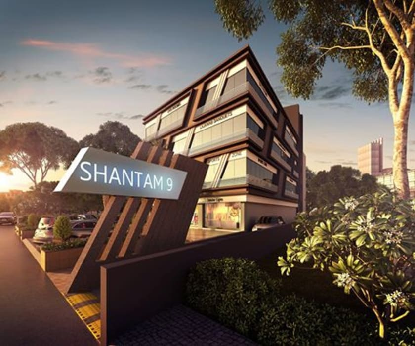 Shantnam 9:  Commercial Spaces by Avasiti Design