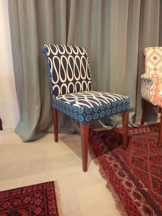 Boris Chair (株)工房スタンリーズ キッチンテーブル&椅子 綿 青色