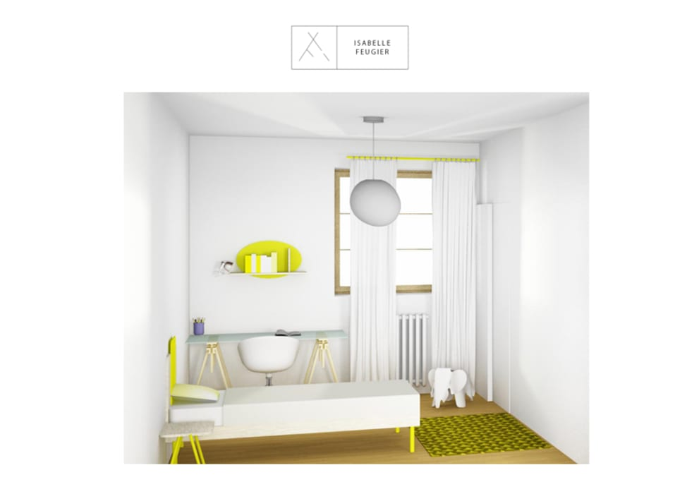 Chambre d'enfant: Chambre d'enfant de style de style Scandinave par SLOWOOD / MOUVANCE DESIGN