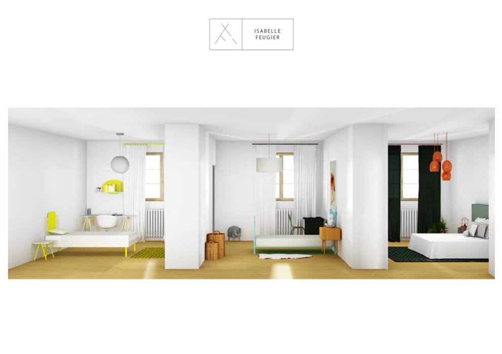 Chambre des parents: Chambre de style de style Scandinave par SLOWOOD / MOUVANCE DESIGN