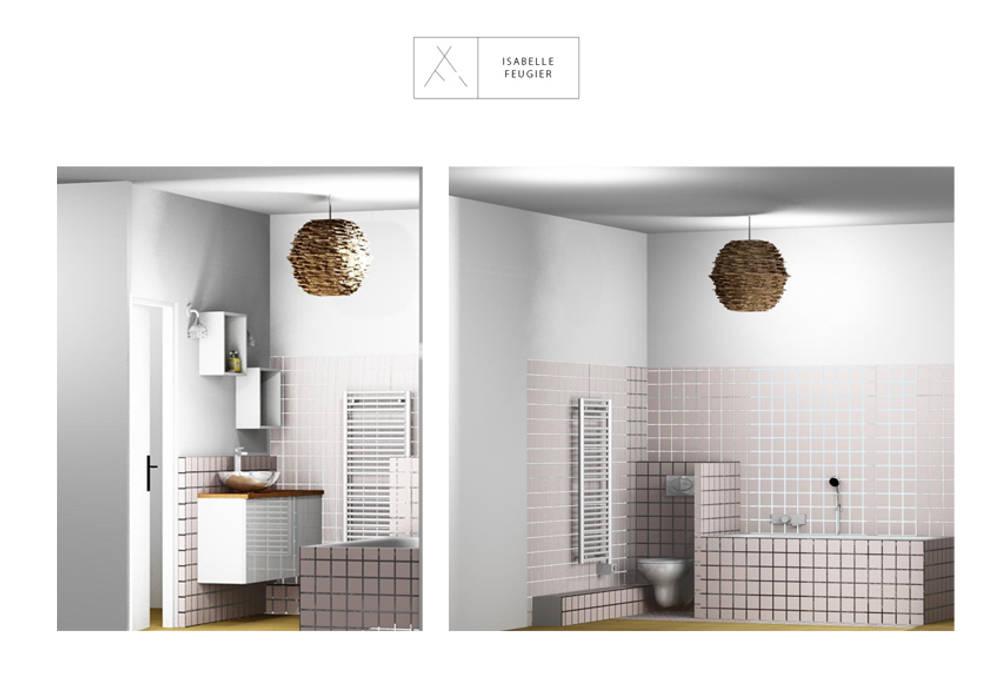 Salle de bain: Salle de bains de style  par SLOWOOD / MOUVANCE DESIGN