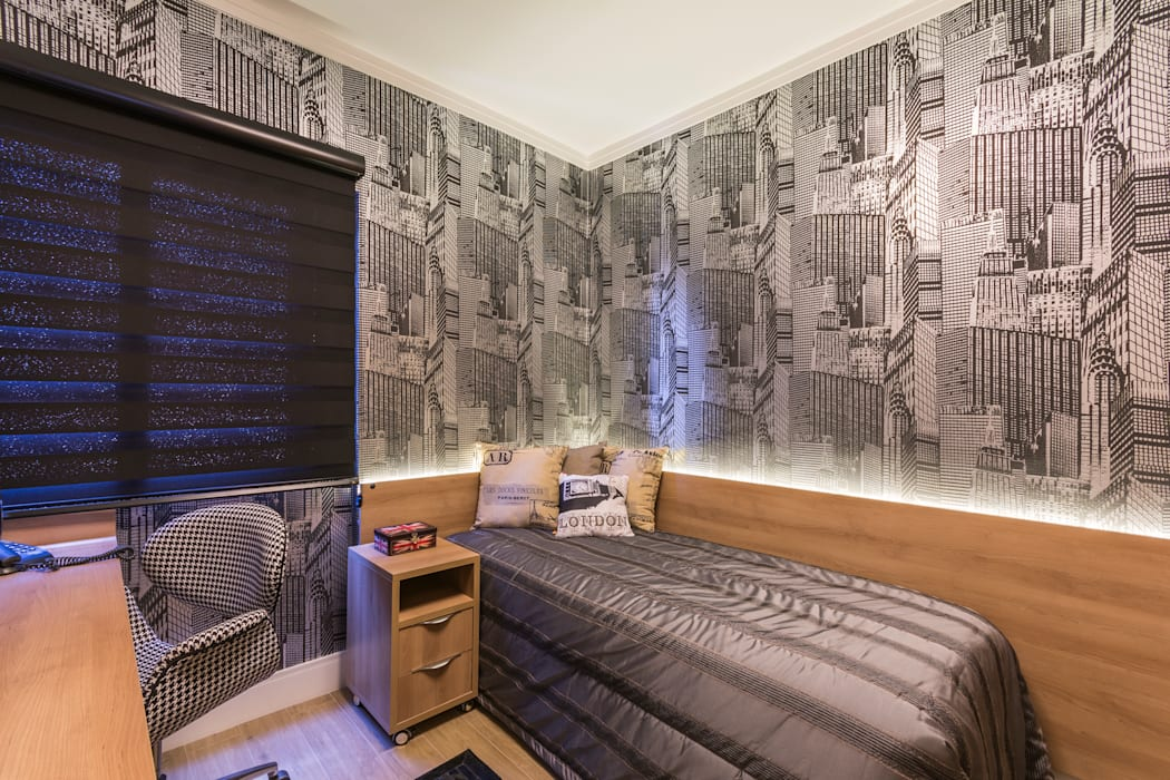 Modern style bedroom by Lo. interiores Modern