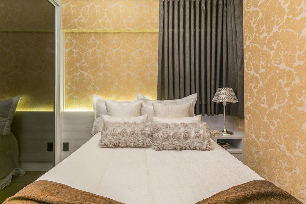 Suite aconchegante Quartos modernos por Lo. interiores Moderno