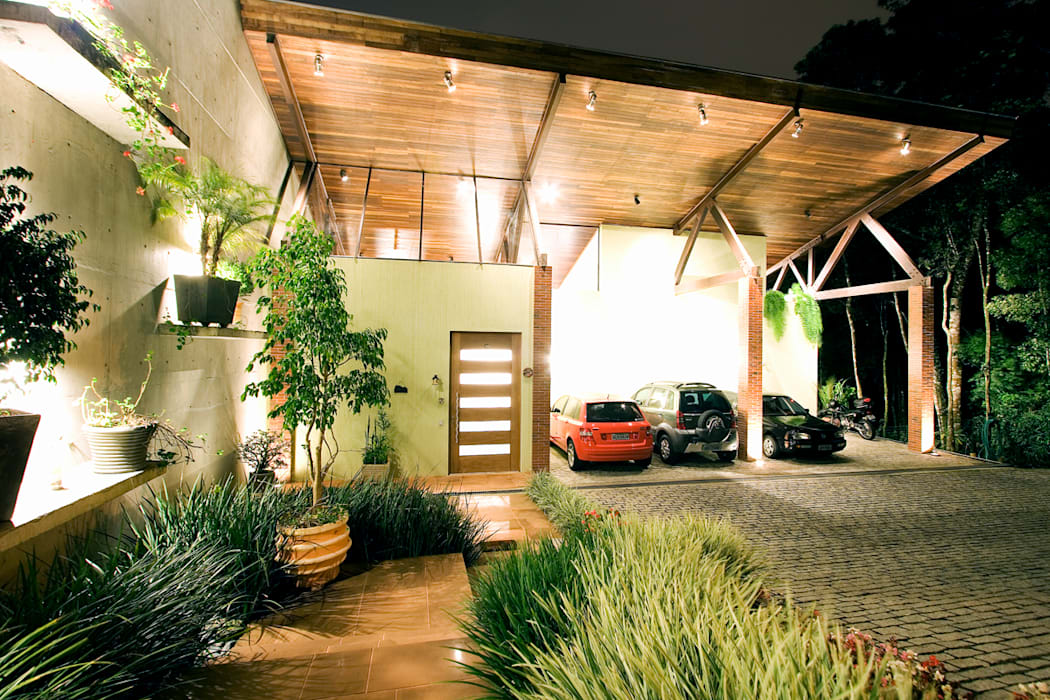 Central de Projetos Rustic style house