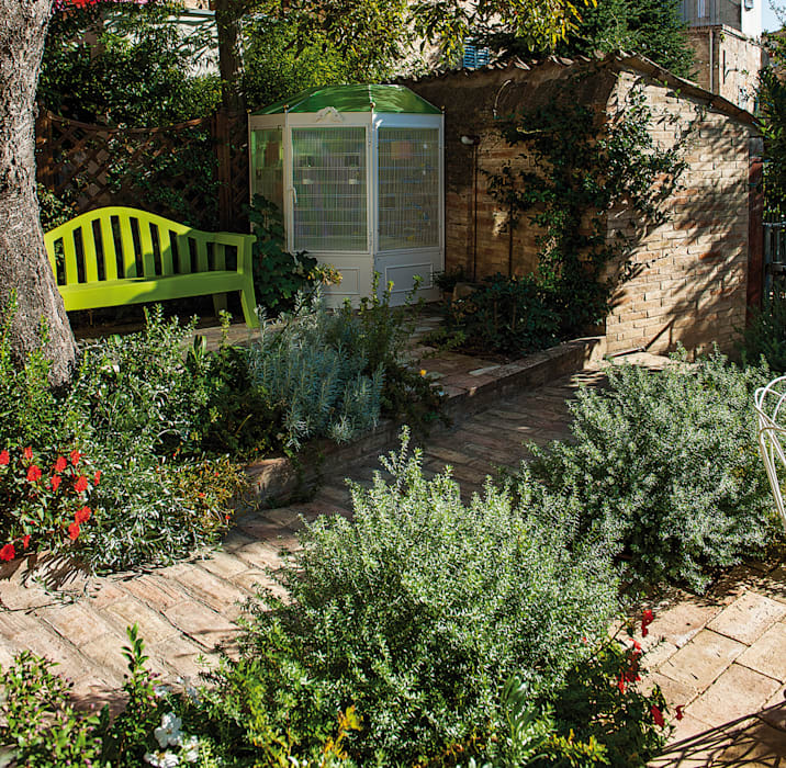 Jardin de style  par Giardini Giordani, Moderne Plastique
