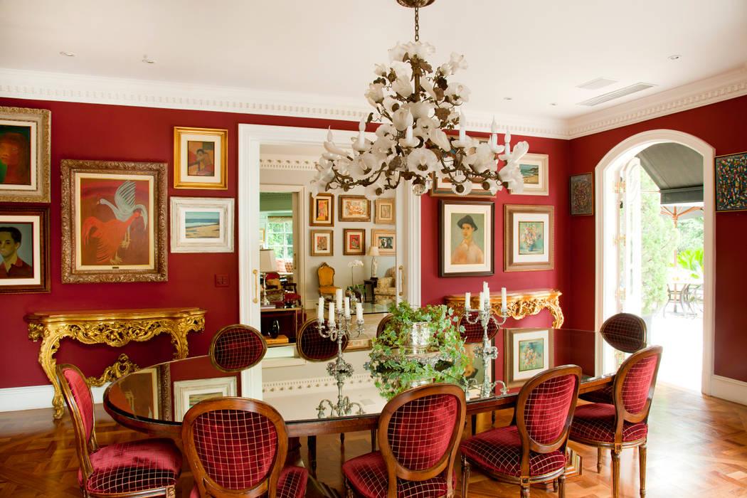 Comedores de estilo  por Allan Malouf Arquitetura e Interiores, Clásico