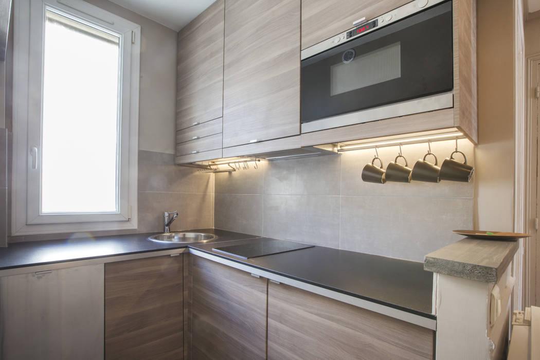 Cocinas de estilo  por cristina velani, Moderno