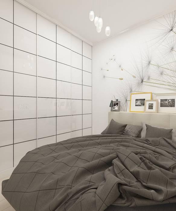 Kamar Tidur Minimalis Oleh Дизайн студия Марины Геба Minimalis