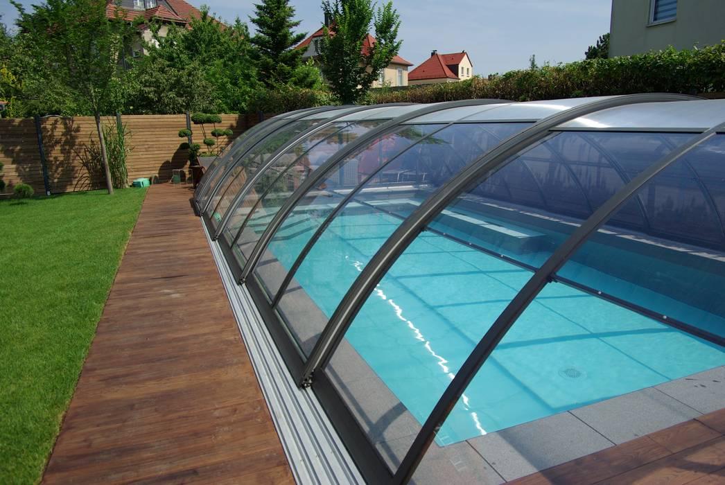 Foliebecken Grau Hellgrau Pool Von Fkb Schwimmbadtechnik Homify
