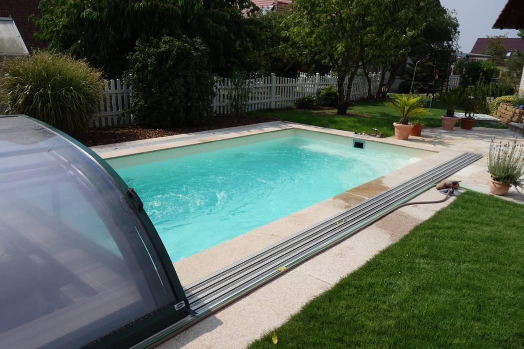 Foliebecken Sand Pearl Moderner Pool Von Fkb Schwimmbadtechnik Homify