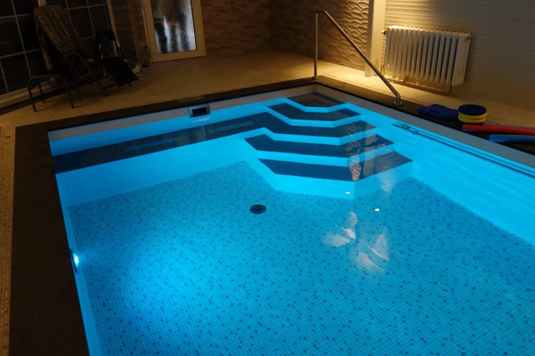 Foliebecken indoor FKB Schwimmbadtechnik Moderne Pools