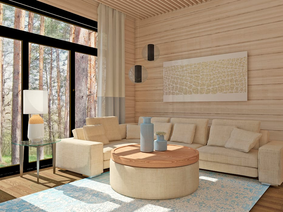 Be In Art Eclectic style living room
