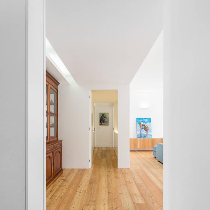 Modern Living Room by OW ARQUITECTOS lda   simplicity works Modern Wood Wood effect