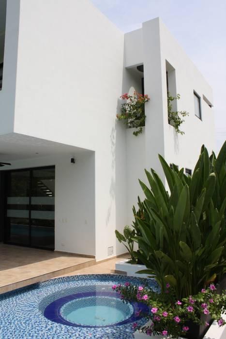 homify Casas modernas Tijolo Branco