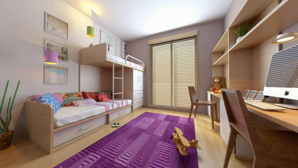 Dormitorios infantiles de estilo moderno de apak mimarlık Moderno