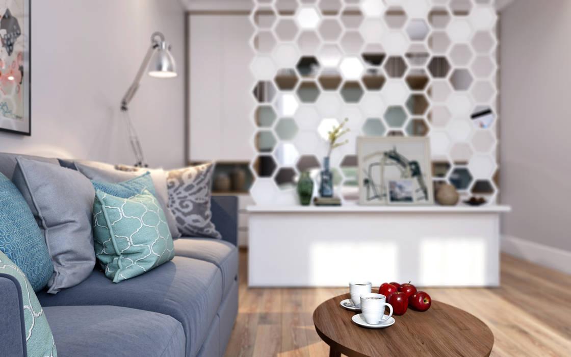 Livings de estilo escandinavo de CO:interior Escandinavo