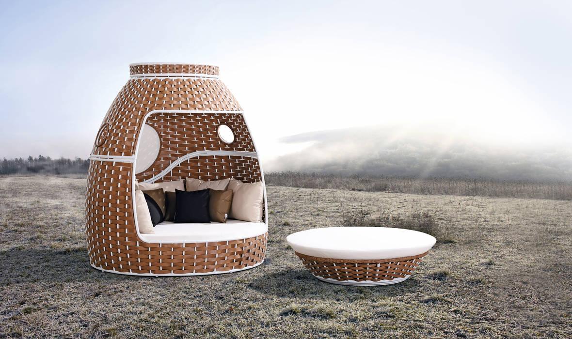 Outdoor Lounge Serie Honolulu: modern  von Rattania GmbH,Modern