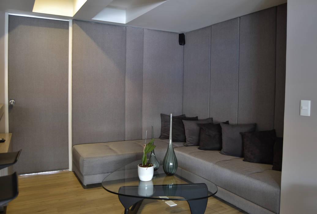 APARTAMENTO 97 Estudios y despachos de estilo ecléctico de santiago dussan architecture & Interior design Ecléctico