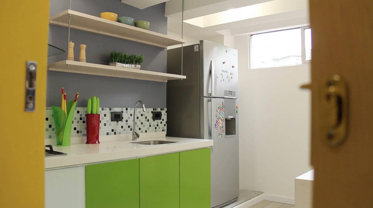 Kitchen by santiago dussan architecture & Interior design, Eclectic
