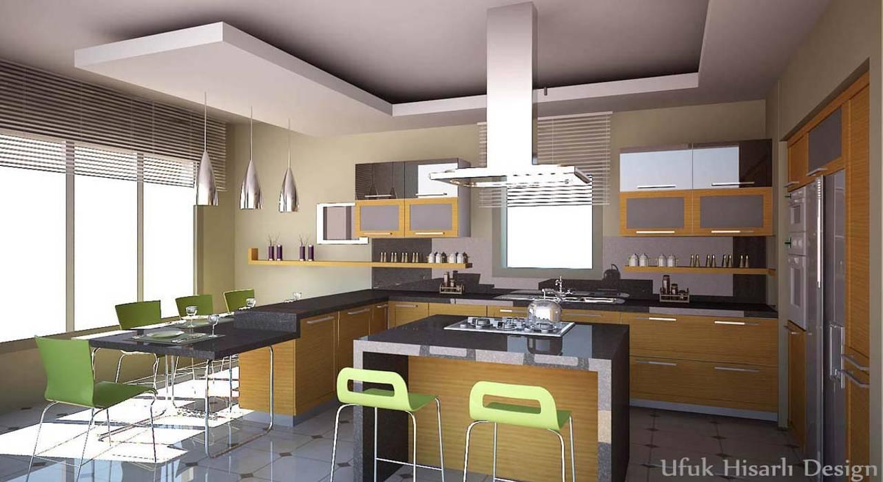 Moderne Küchen von HİSARİ DESIGN STUDIO Modern