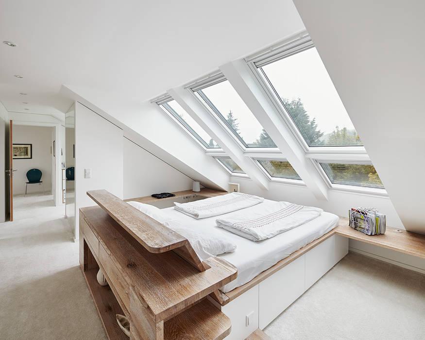 Dormitorios de estilo moderno de Philip Kistner Fotografie Moderno