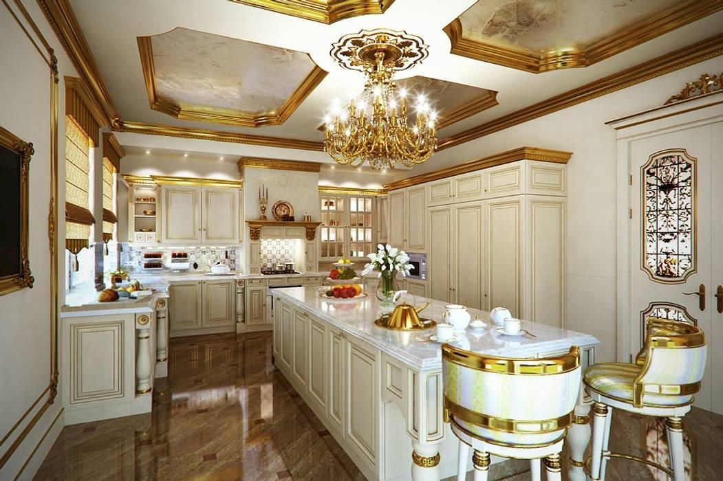 Design studio of Stanislav Orekhov. ARCHITECTURE / INTERIOR DESIGN / VISUALIZATION. Cucina in stile classico