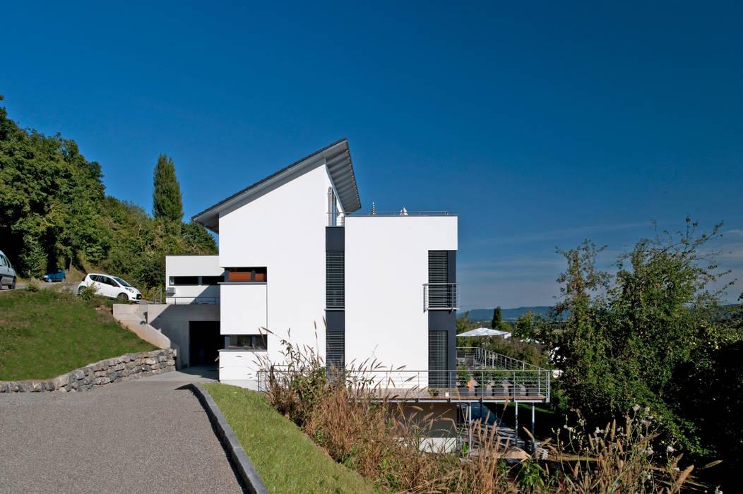 Casas de estilo  de Hauptvogel & Schütt Planungsgruppe, Moderno