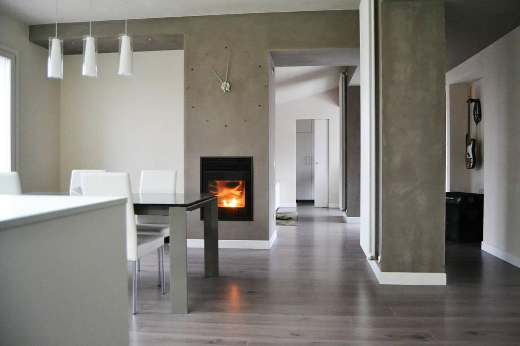 現代廚房設計點子、靈感&圖片 根據 LTAB/LAB STUDIO 現代風
