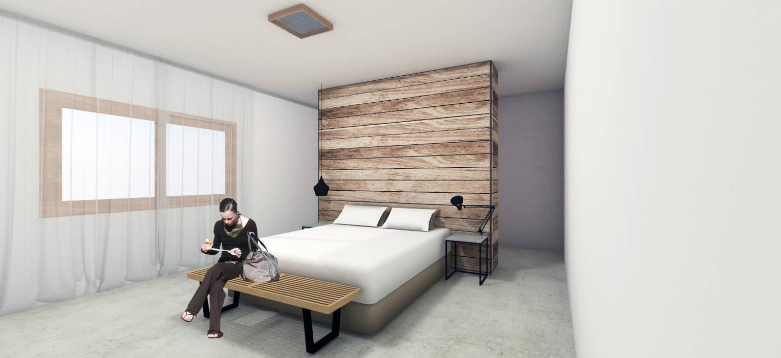 Bedroom by ben arquitectos, Modern