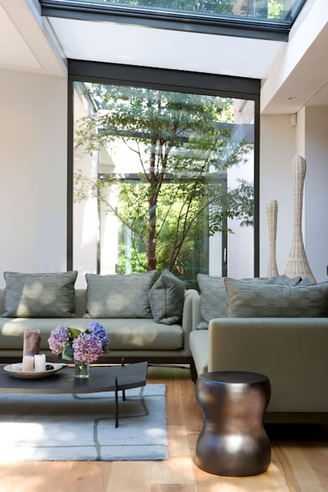 KSR Architects | Compton Avenue | Living room Modern living room by KSR Architects Modern