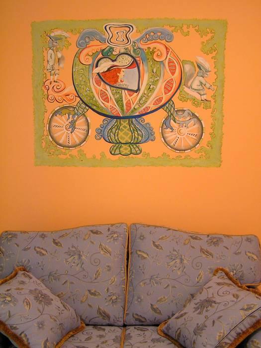 Роспись в детской комнате от Художник декоратор Классический