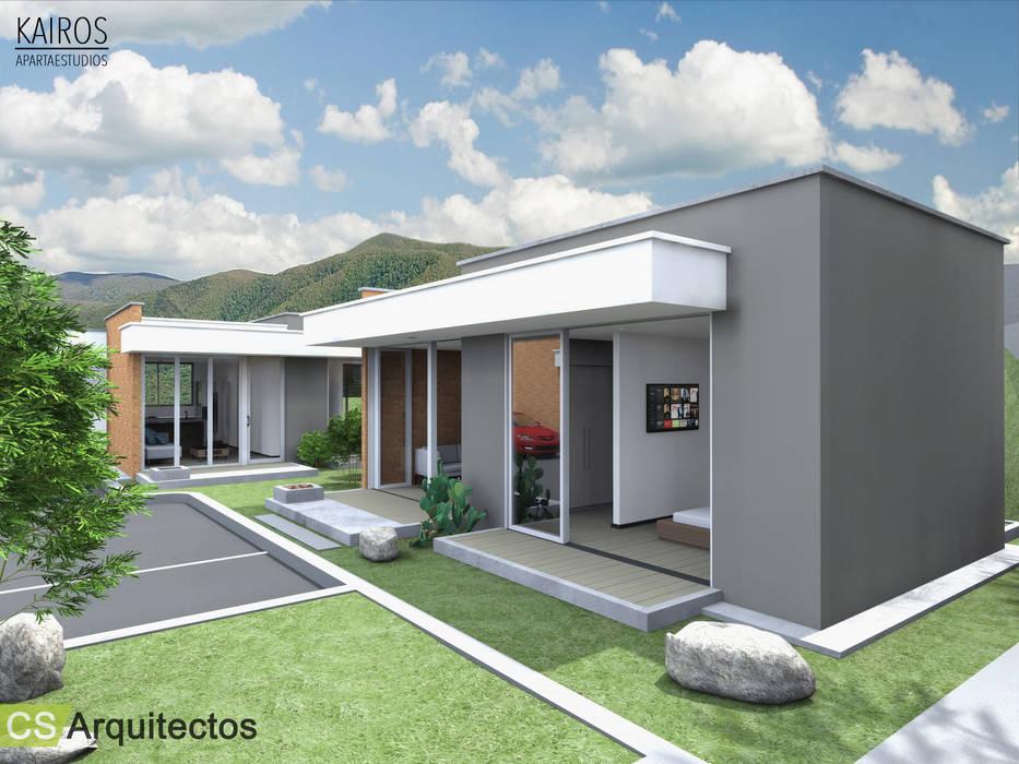 Дома в . Автор – CS Arquitectos, Минимализм