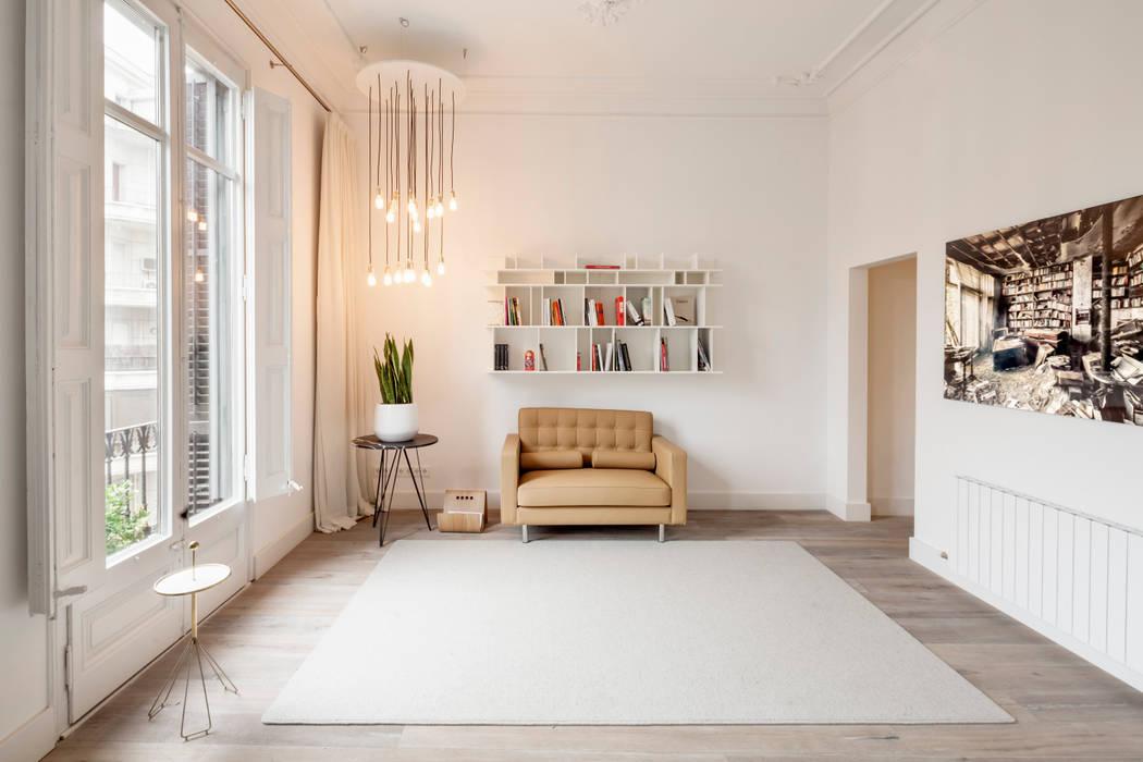 Minimalistische Wohnzimmer von Alex Gasca, architects. Minimalistisch
