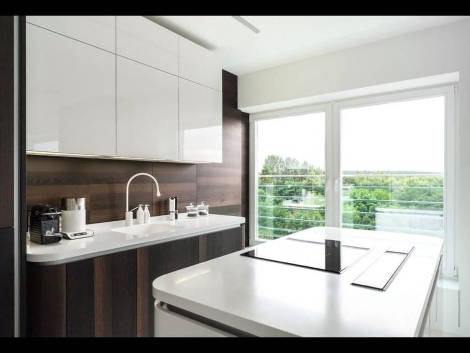 Cocinas de estilo minimalista de Строймассив Minimalista
