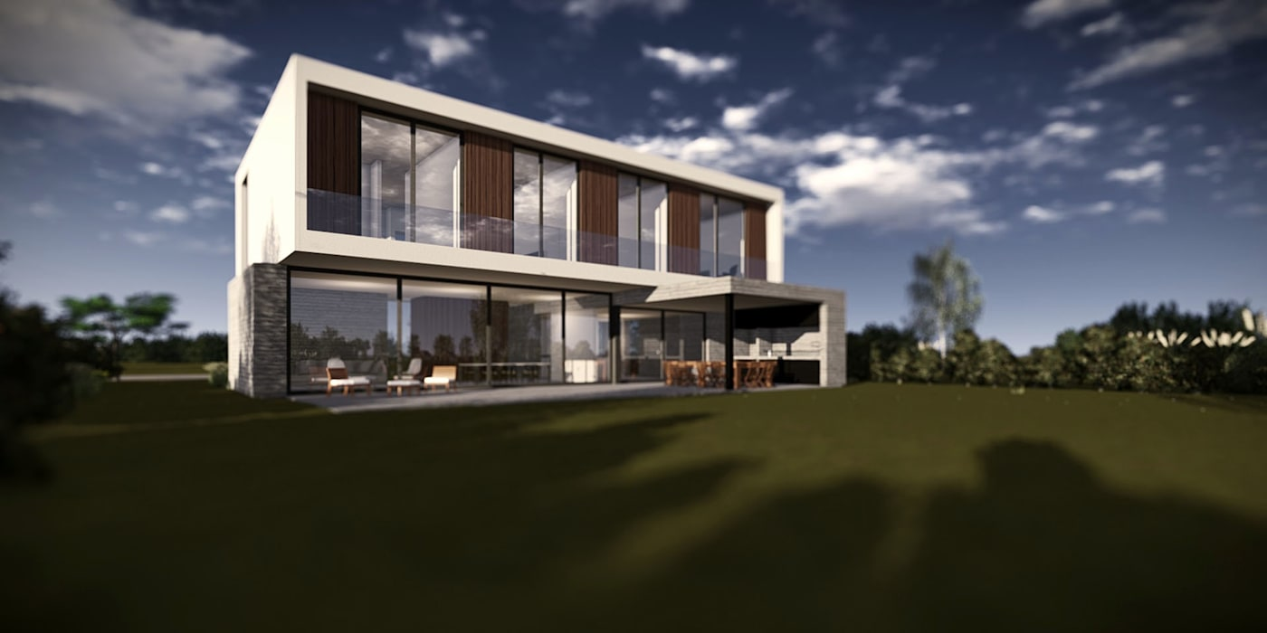BAM! arquitectura Minimalist house