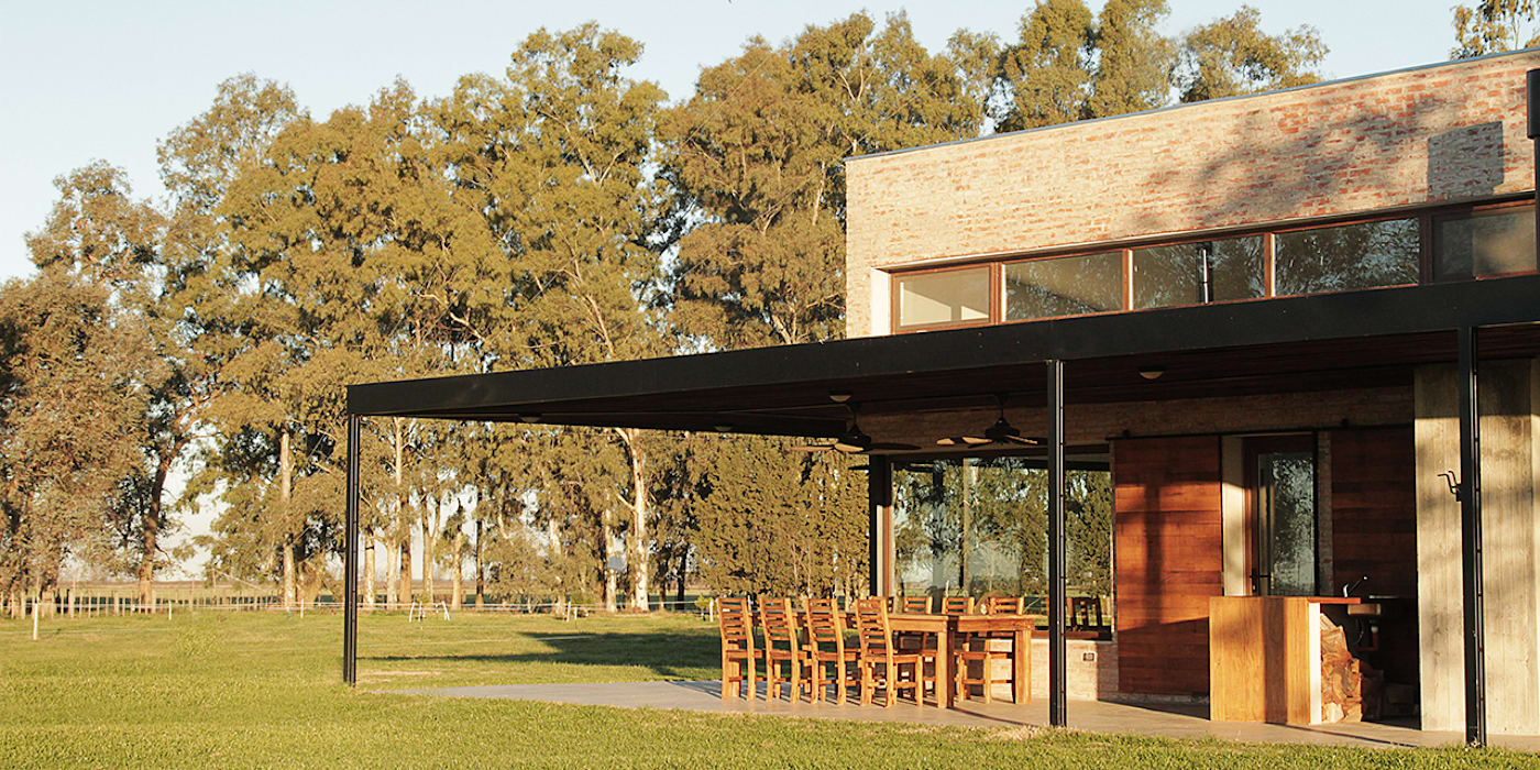 Casas de estilo rural de BAM! arquitectura Rural