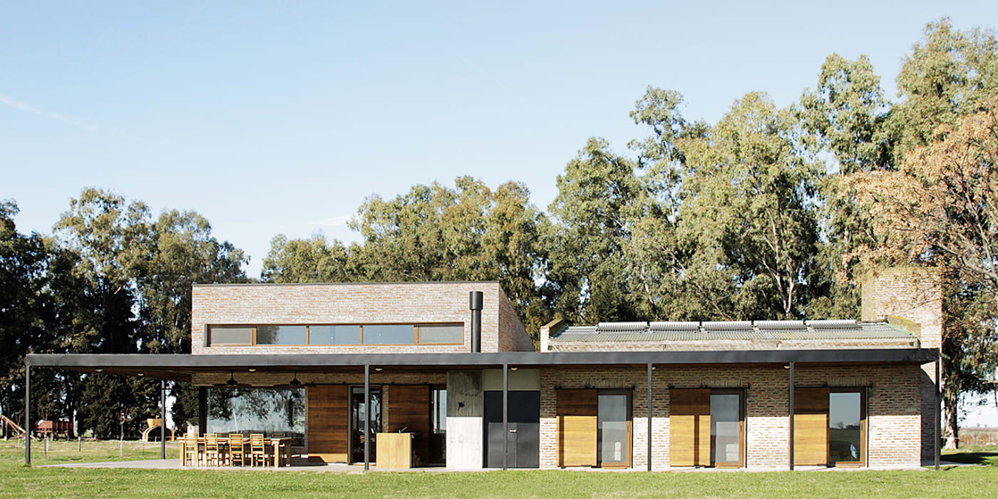 Wiejskie domy od BAM! arquitectura Wiejski