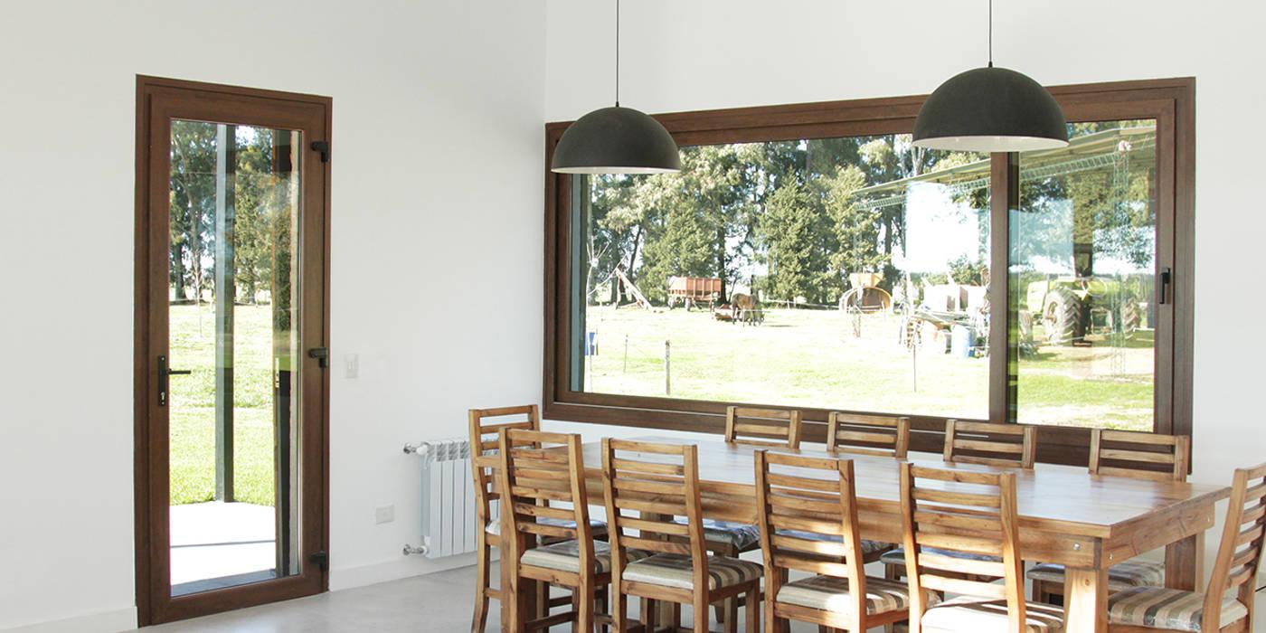 Ruang Makan oleh BAM! arquitectura, Country
