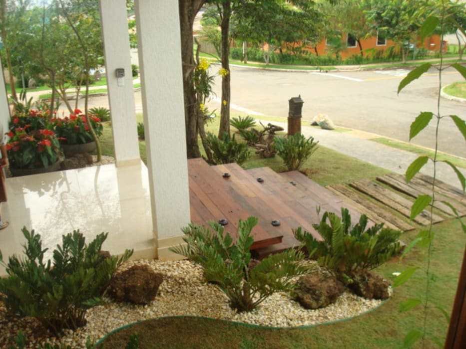 Residência - Cond. Portal do Sol II Sandra Kátia Junqueira Casas modernas