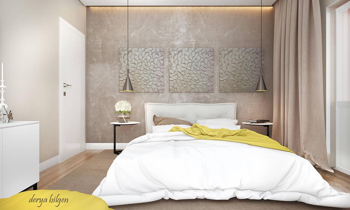 bedroom Modern Yatak Odası Derya Bilgen Modern