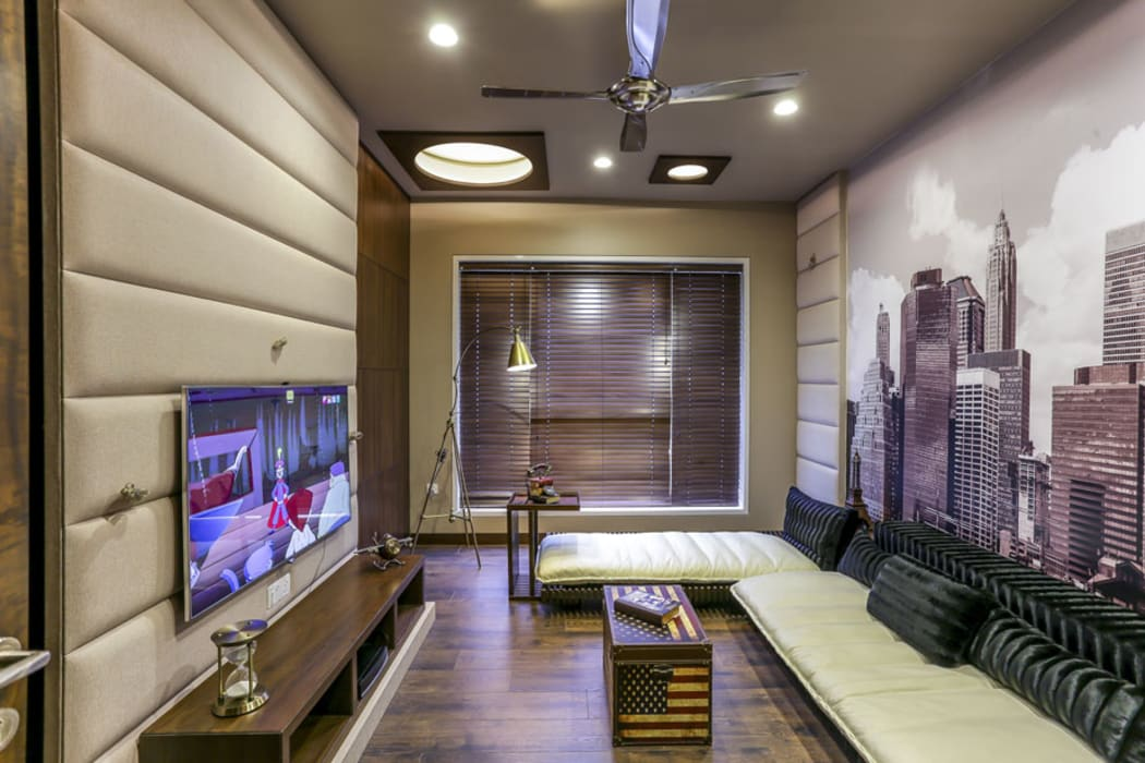 Kabra House: modern Living room by Spaces and Design